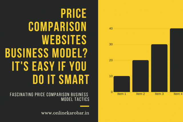 PRICE COMPARISON website business model