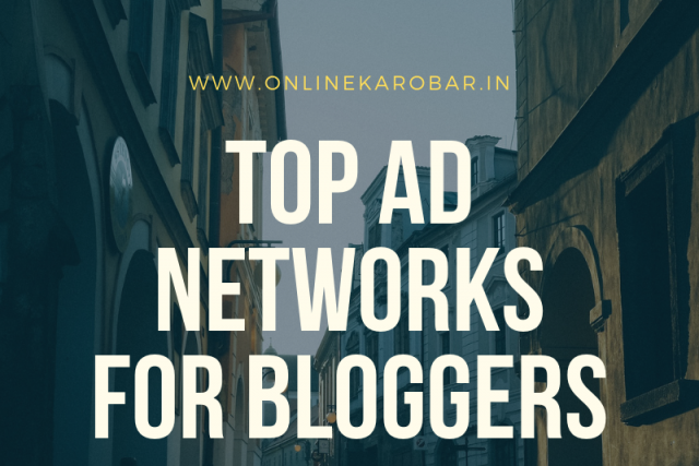 Top Ad Networks for Blogs and Websites